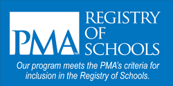 Our program meets the PMA's criteria for inclusion in the Registry of Schools.